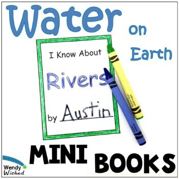 Types of Water and their Roles on Earth Mini Books