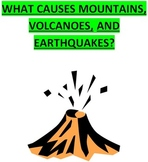 Earth's Tectonic Plates Causes of Mountains, Volcanoes, & Earthquakes