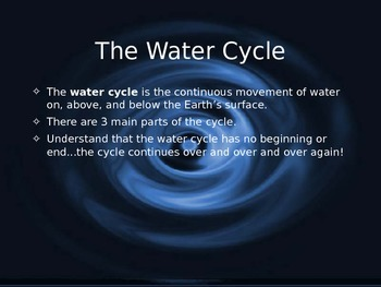 Earth's Waters Powerpoint