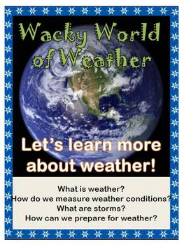 Earth's Weather - Instruments and Storms