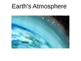 Earth's atmosphere powerpoint
