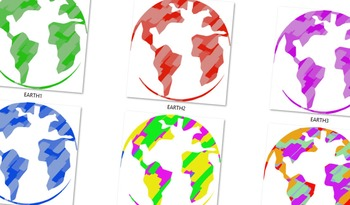 Earths in Colors ( images )