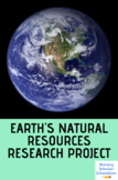 Earth's natural resources research project