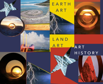 Environmental Art ~ Art History ~ FREE POSTER ~ Earth Art ~ Land Art