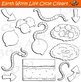 Earthworm Life Cycle Clipart
