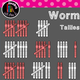 Earthworm tallies 1-10 (b&w included)