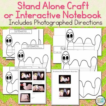 Worm Craft & Non-Fiction Read Aloud about Earthworms