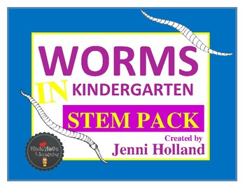 Earthworms and Red Worms {Animals 2x2}