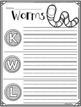 Earthworms and Redworms (Animals 2x2) Suplement Printables