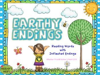 Earthy Endings: Reading Words with Inflected Endings