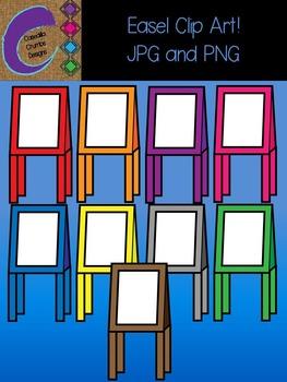 Easel Clip Art Color Images