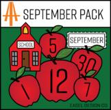 Easel Design September Calendar Pack