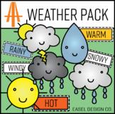 Easel Design Weather Clip Art Pack