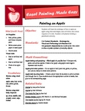 Easel Painting Made Easy - Painting an Apple