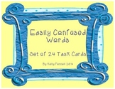 Easily Confused Words Task Cards
