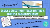 Easily & Effectively Teach Writing a Multiple Paragraph Essay