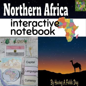 Northern Africa Interactive Notebook
