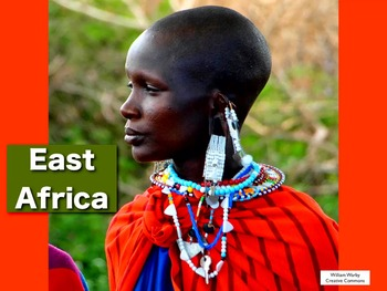 East Africa Song MP4 from Geography Songs by Kathy Troxel