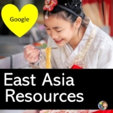 East Asia Bundle of Activities with Google Slides