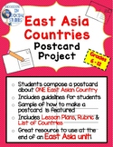 East Asia Countries Postcard Project