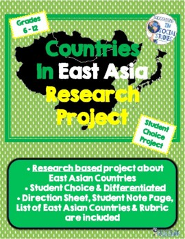 East Asia Countries Research Project