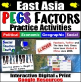 East Asia PEGS Factors Interactive, Digital Lesson for Google Classroom
