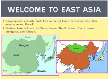 East Asia PowerPoint