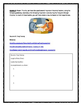 East Asia Project/WebQuest