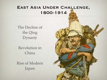 East Asia Under Challenge, 1800-1914