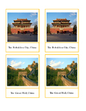 East Asian Landmark Cards