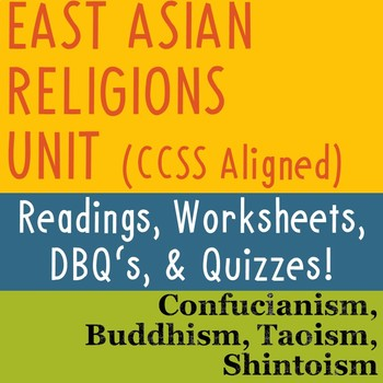 Asia Religion Worksheets Teaching Resources Teachers Pay