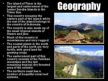 East Timor PowerPoint