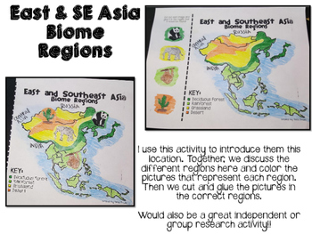 East and Southeast Asia Biome and Geography Hunt