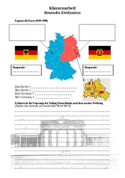 East And West Germany Map By Frederic Lippold Tpt