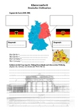 East and West Germany - Map