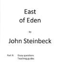 East of Eden teaching materials-Part B