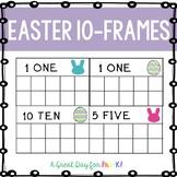 Easter 10-Frame Cards for Preschool, Prek, and Kindergarten