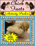 Spring Activities: Chick Facts Easter Activity Packet - Color Version