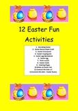 Easter: 12 Easter Activities
