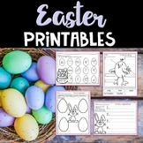 Easter Worksheets and Printables