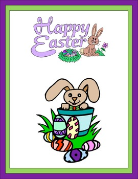 Easter Thematic Unit