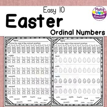 Easy 10: Easter Ordinal Numbers