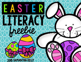Easter Literacy Freebie