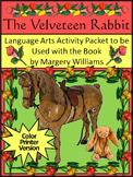 Easter Language Arts & Christmas Language Arts: The Velveteen Rabbit Activities