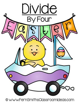 Easter Math A Quick and Easy to Prep Divide By Four Center Game