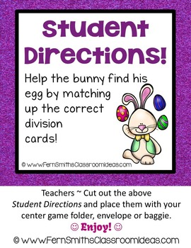 Easter Math A Quick and Easy to Prep Addition Doubles Center Game