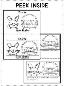 Mini Book and Activities - Easter