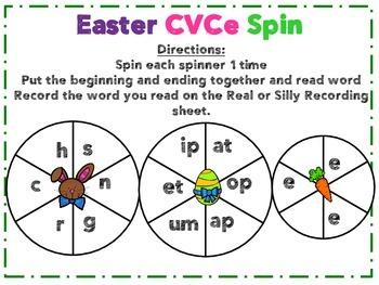 Easter 1st Grade Literacy Pack (11+ Centers)