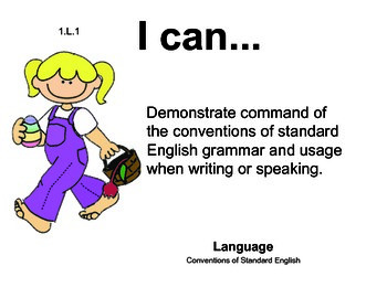 Easter 1st grade English Common core standards posters