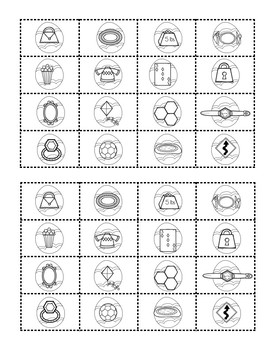 Easter 2-D and 3-D Shapes Sort
